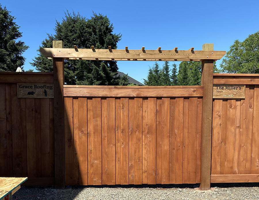 Wooden Fence2